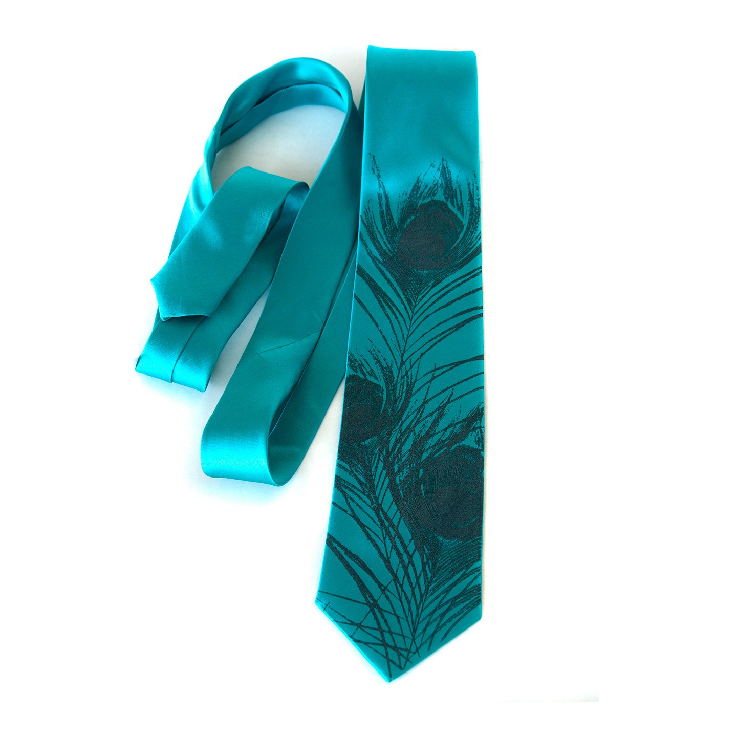 peacock tie photo - 1