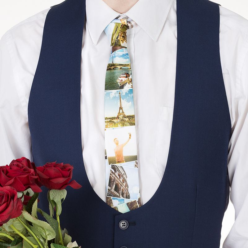 personalized tie photo - 1