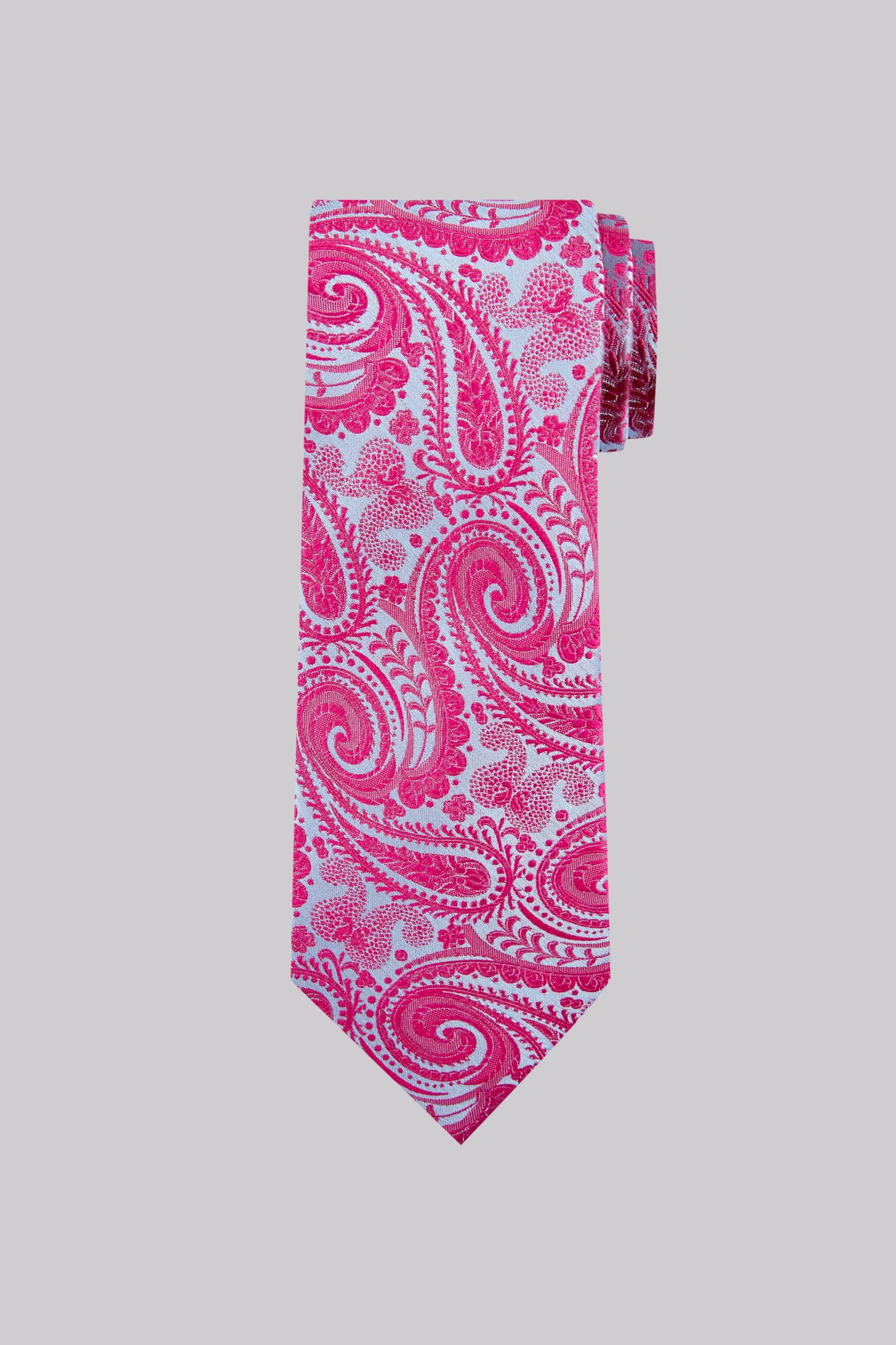 pink and blue tie photo - 1
