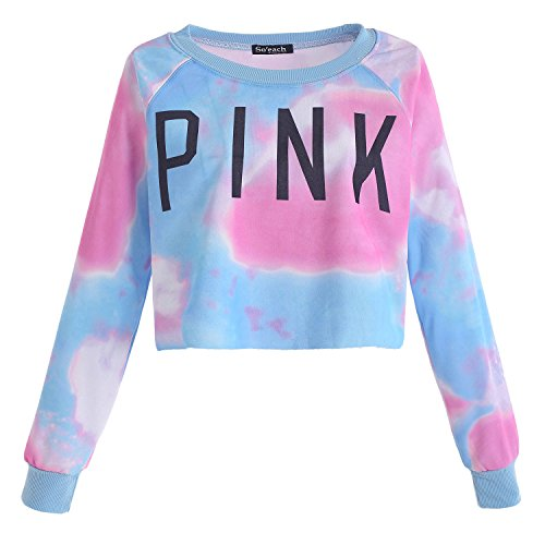 pink and blue tie dye shirts photo - 1