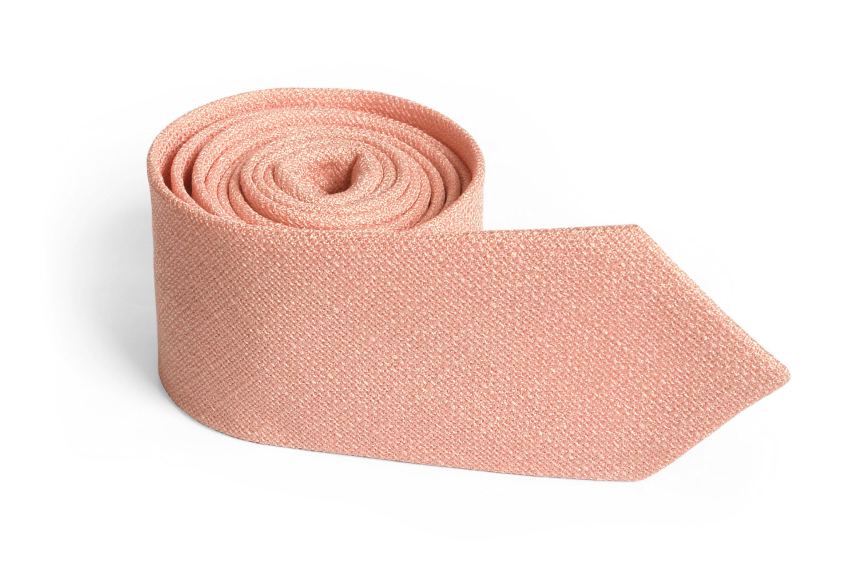 pink skinny tie photo - 1