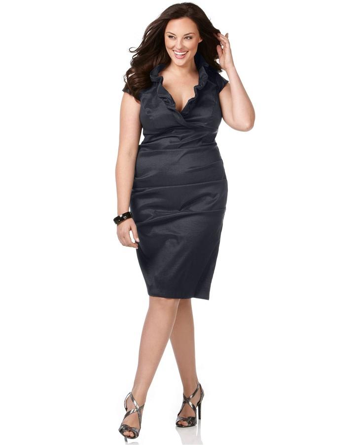 plus size black tie dresses photo - 1