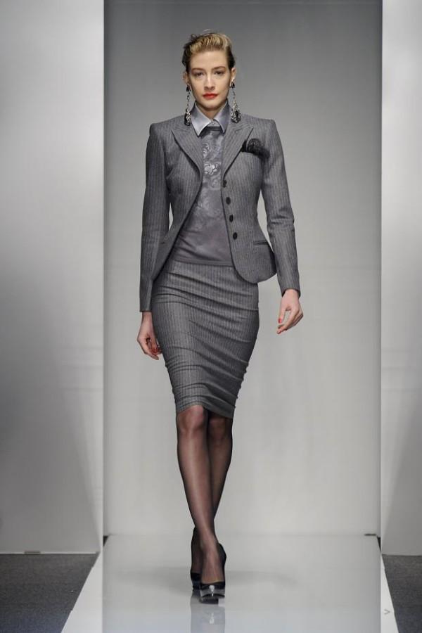 plus size business suit photo - 1