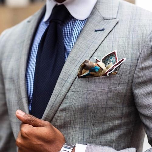 pocket square match tie photo - 1