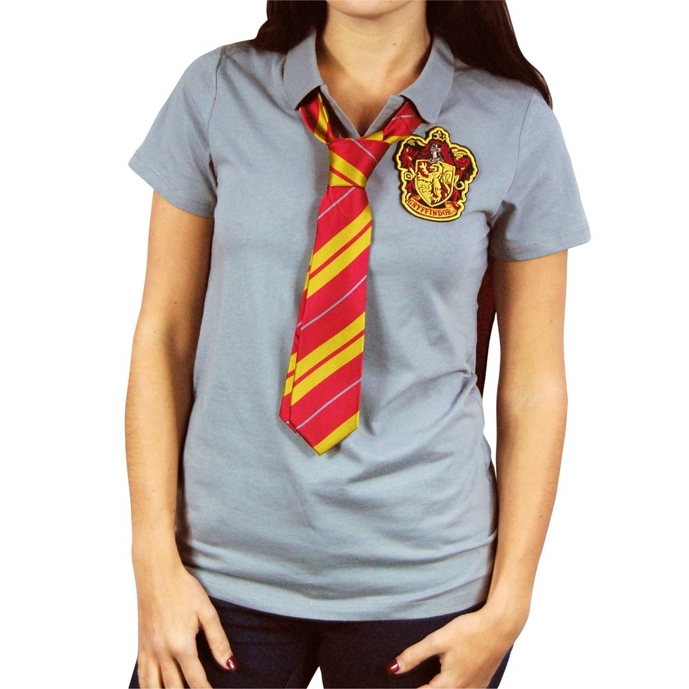 polo shirt with tie photo - 1
