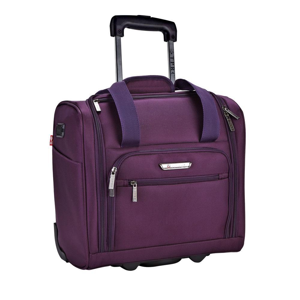 purple briefcase photo - 1