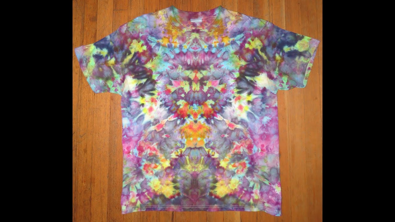 rainbow tie dye shirt photo - 1