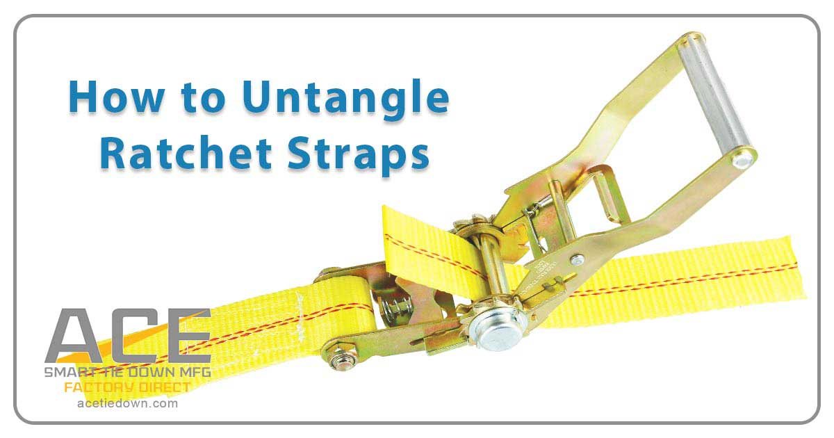 ratchet tie down straps how to use photo - 1