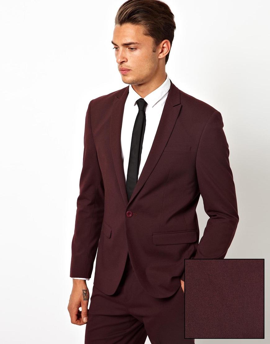 red suit jacket men photo - 1