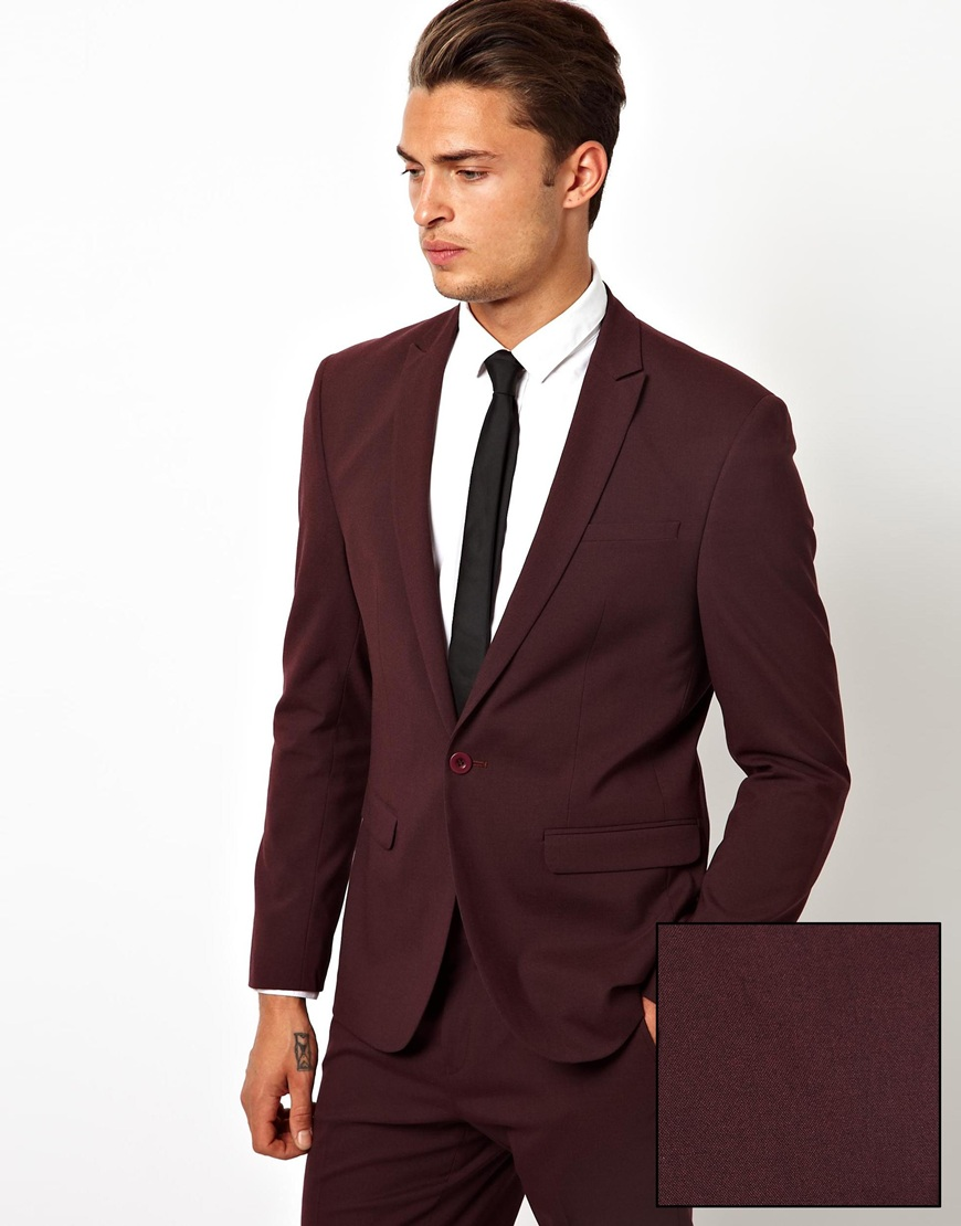 red suit men photo - 1