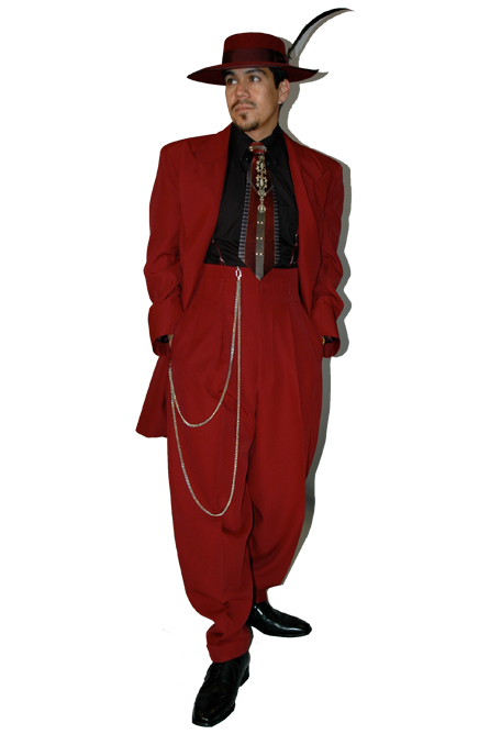 red suit women photo - 1