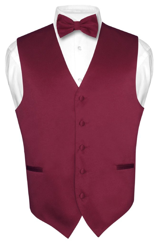 red vest and bow tie photo - 1
