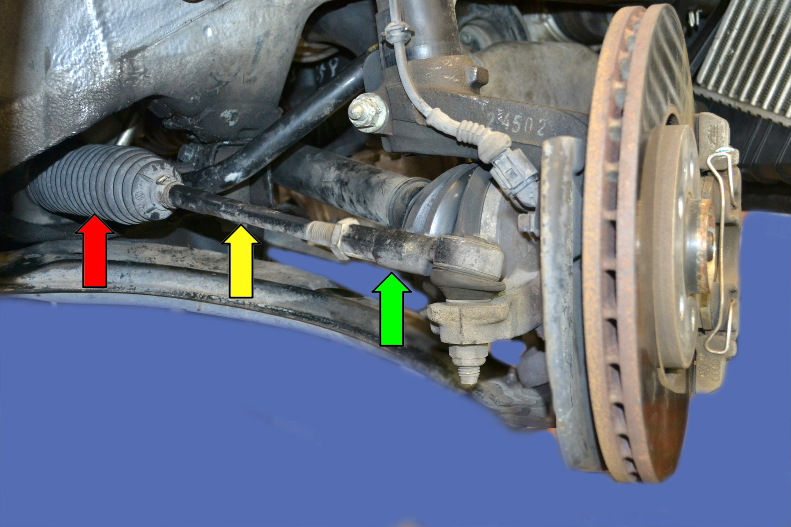 replacing tie rod ends photo - 1