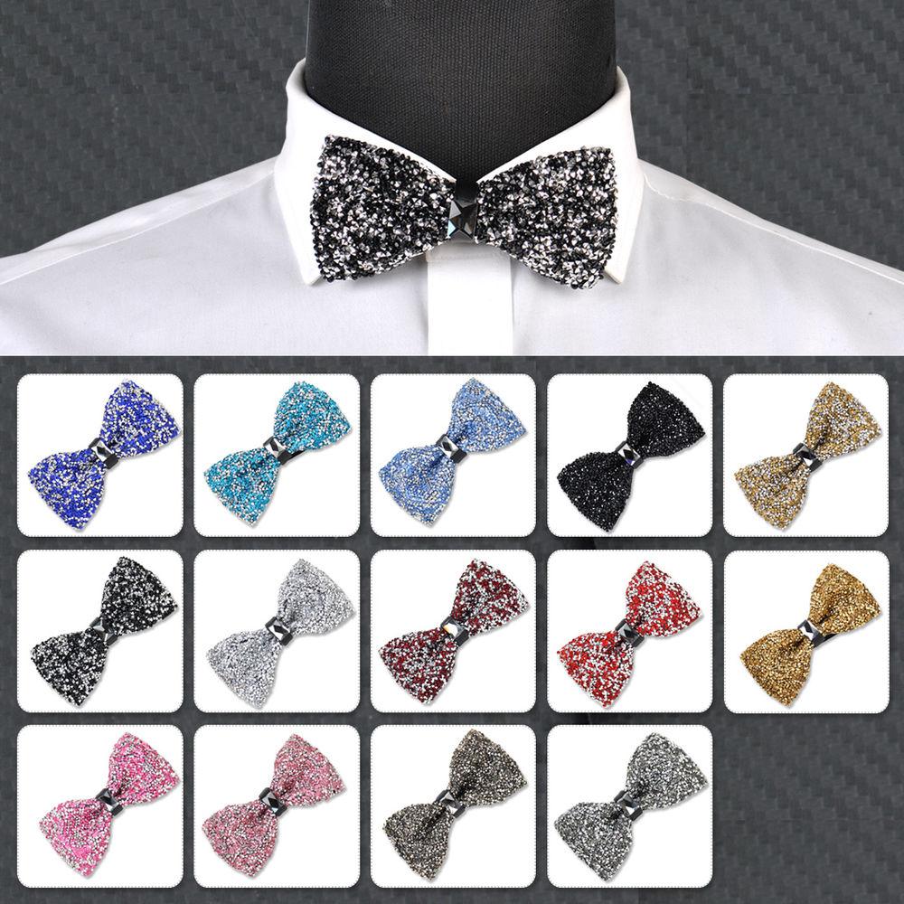 rhinestone bow tie photo - 1