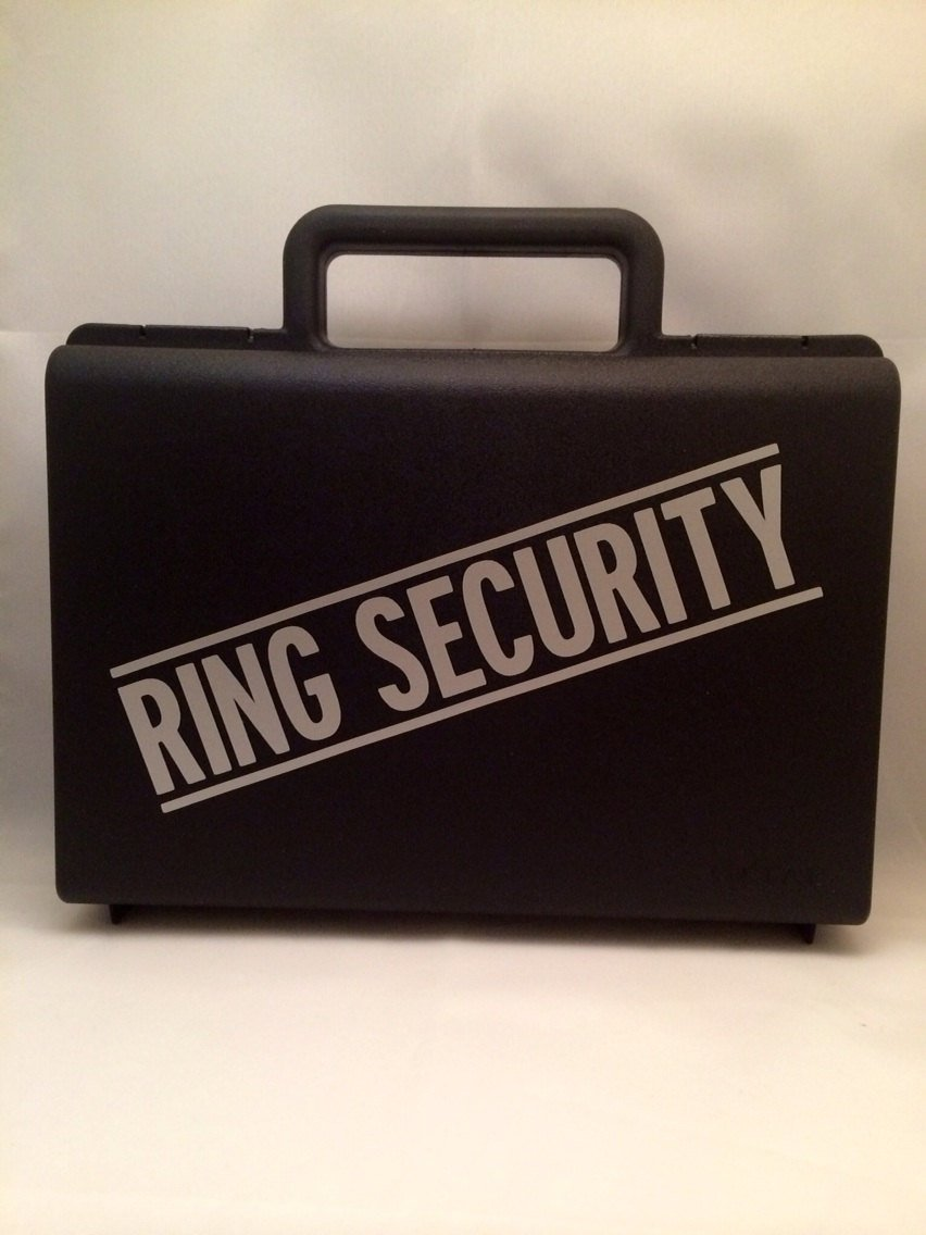 ring bearer briefcase photo - 1