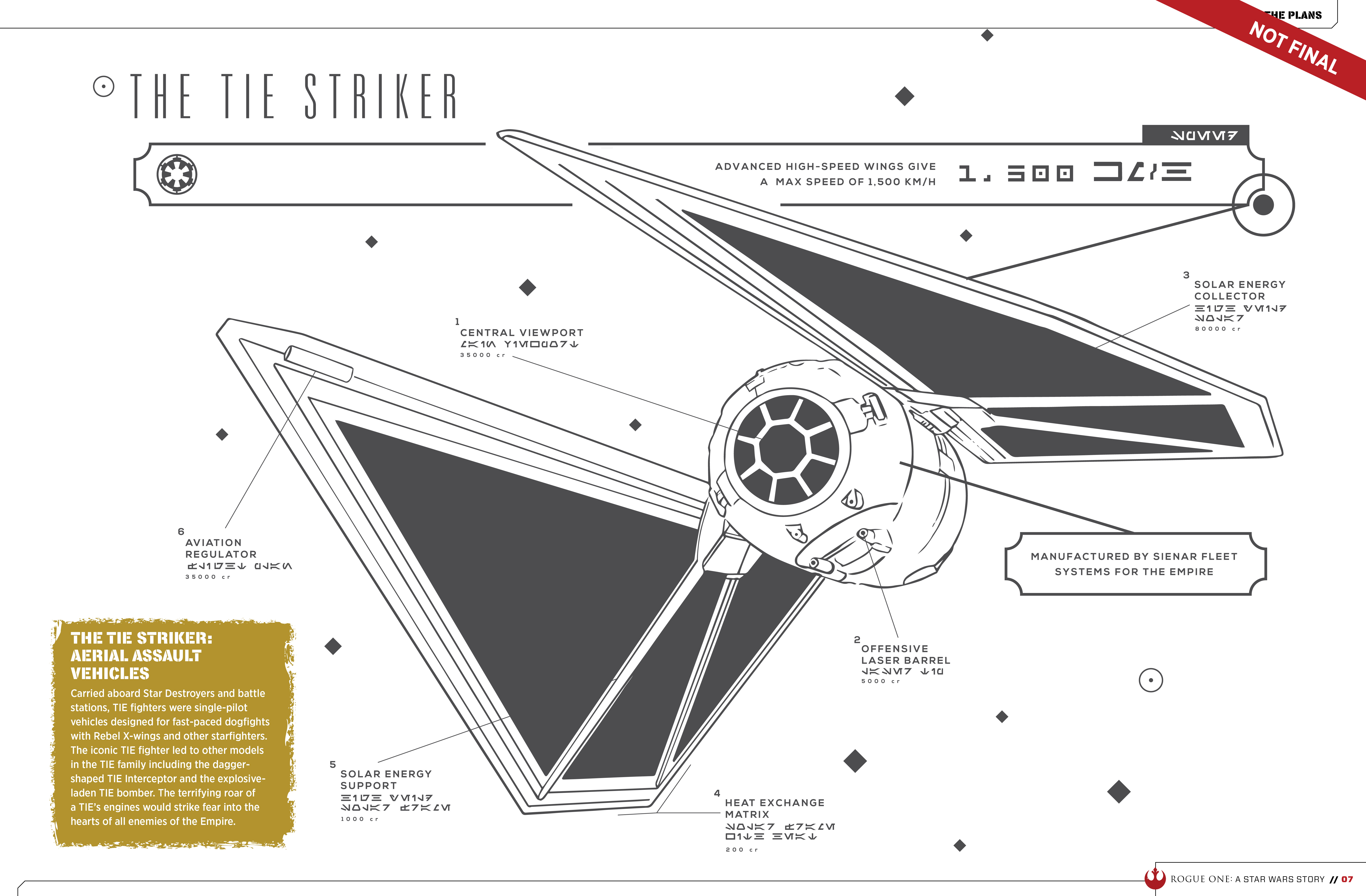 rogue one tie striker photo - 1