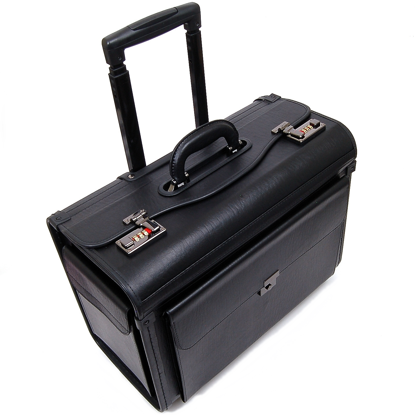 rolling briefcase for lawyers photo - 1