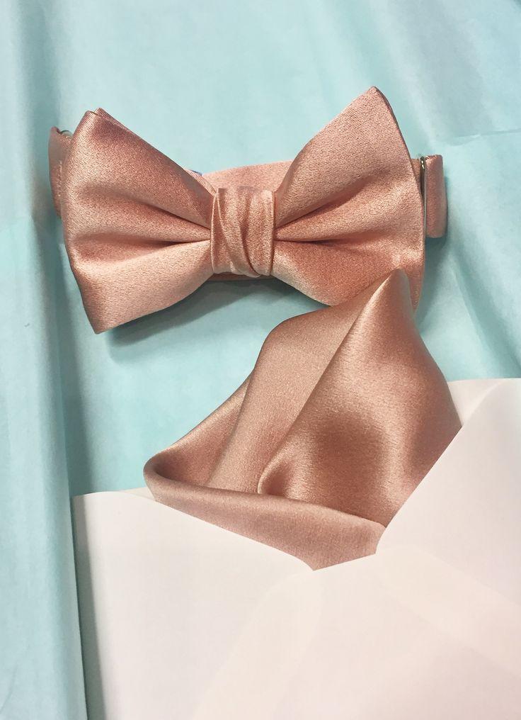 rose bow tie photo - 1