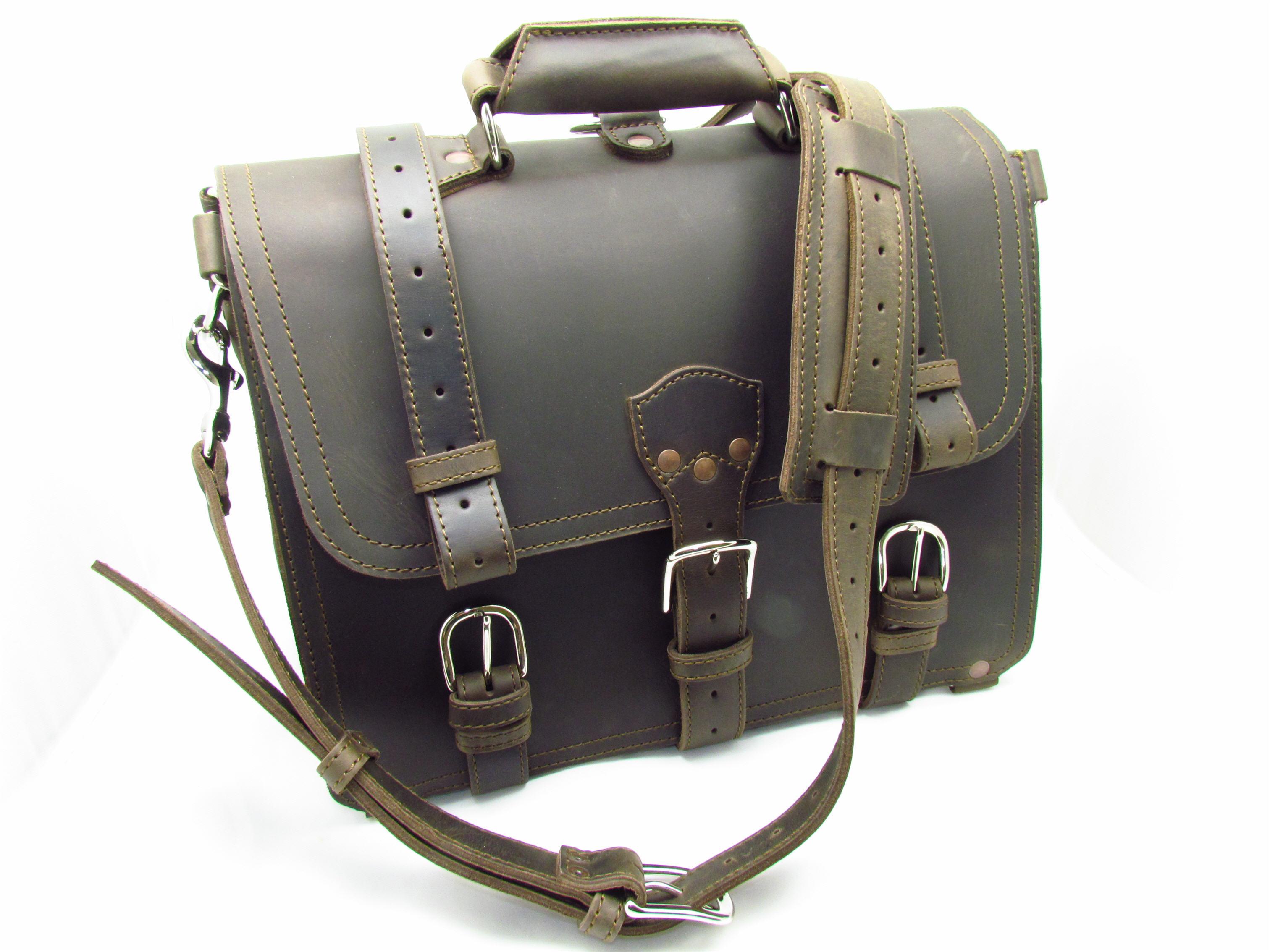 saddleback leather briefcase photo - 1