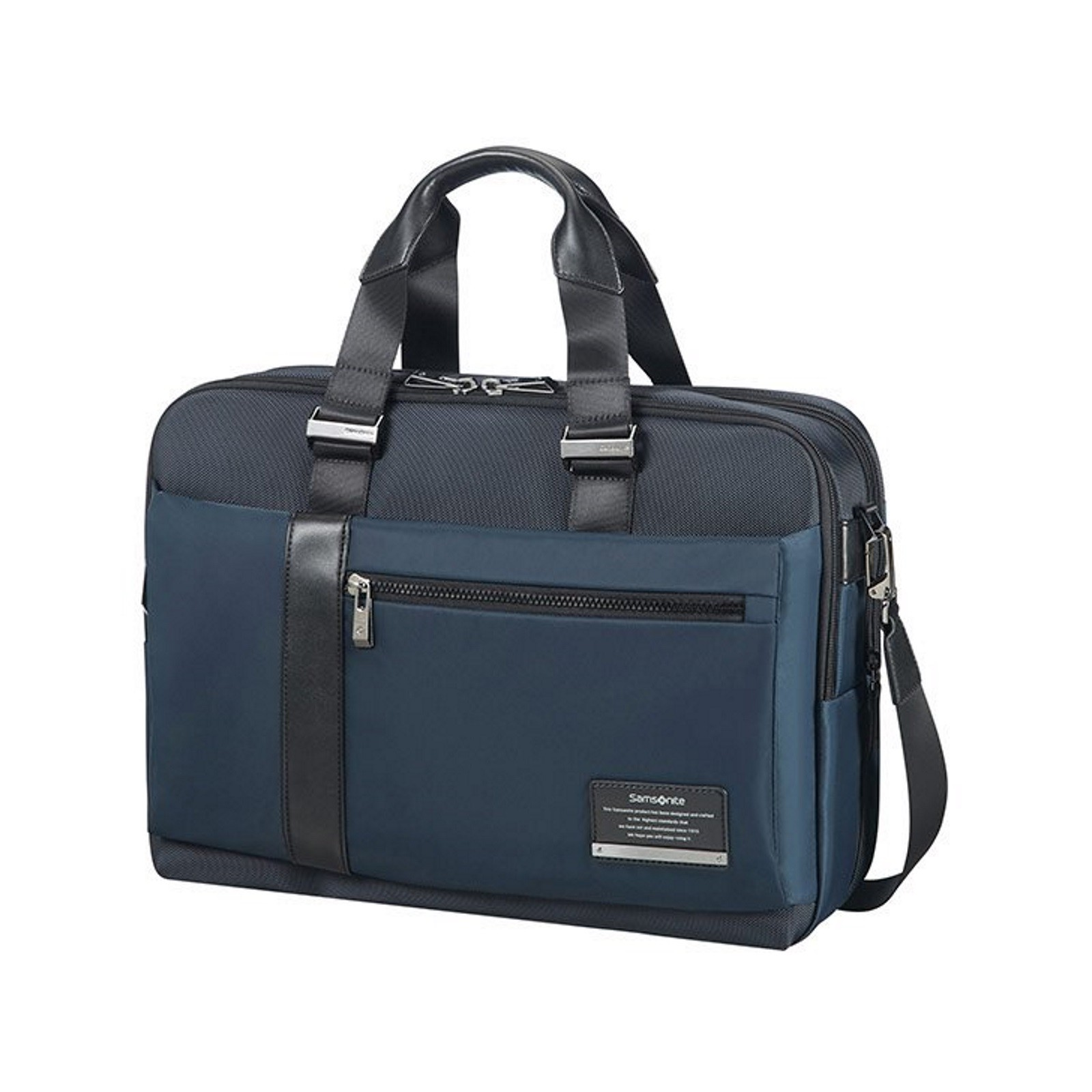 samsonite leather expandable briefcase photo - 1