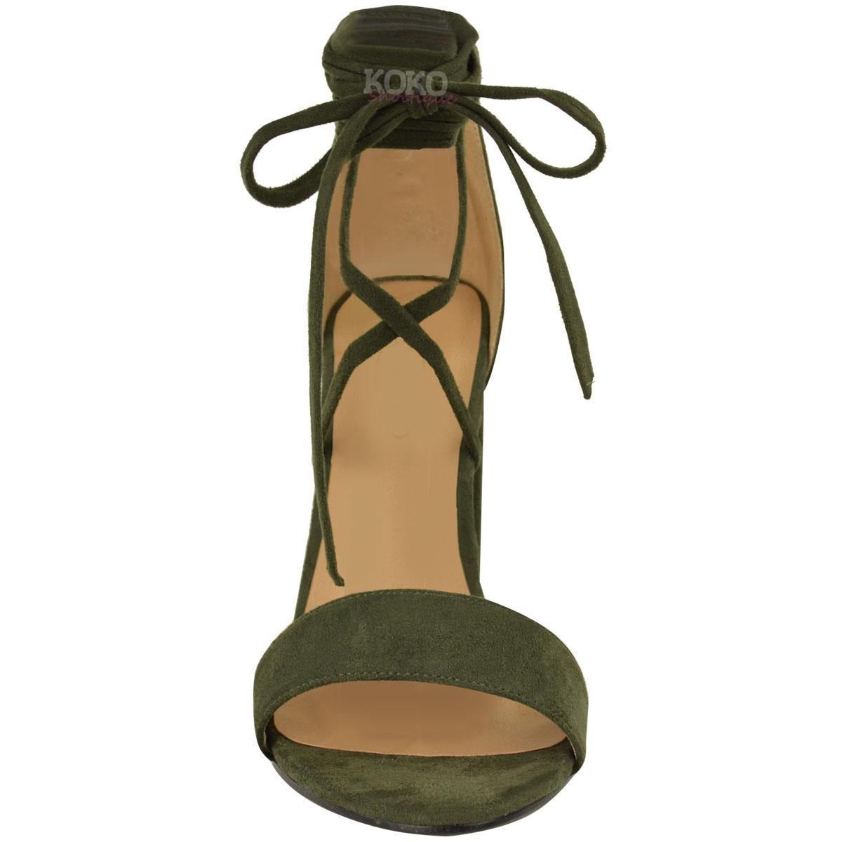 sandals that tie around ankle photo - 1