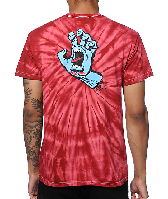 santa cruz tie dye shirt photo - 1