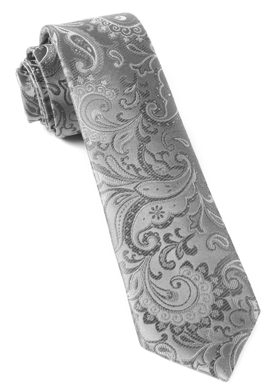 silver tie photo - 1