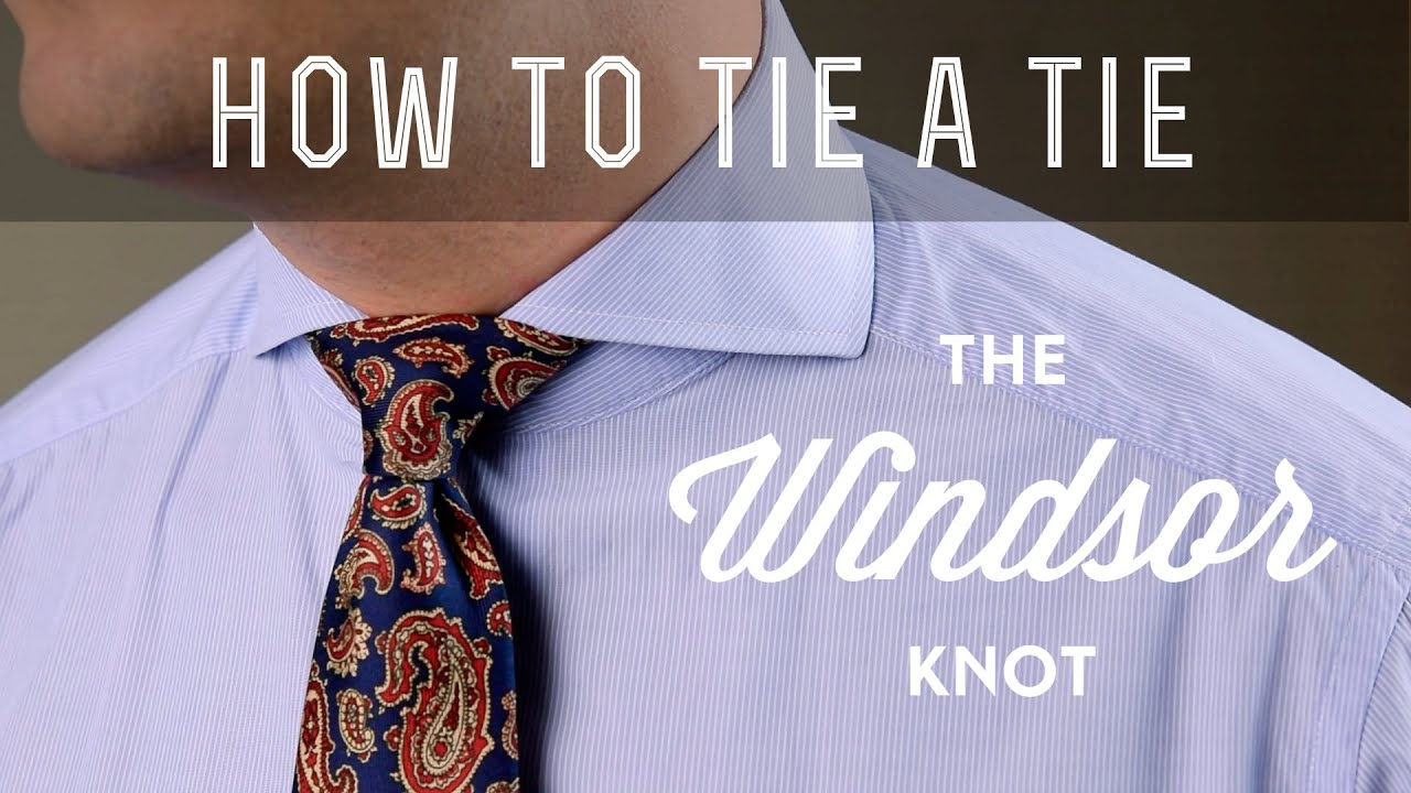 single windsor tie photo - 1