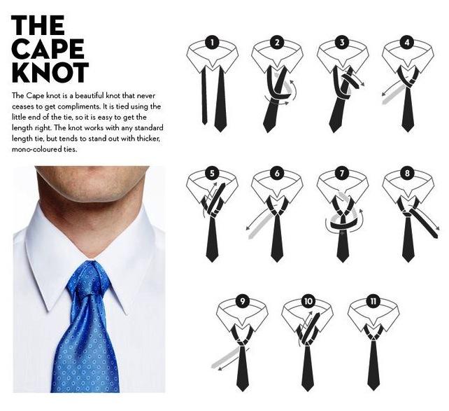 skinny tie knot photo - 1