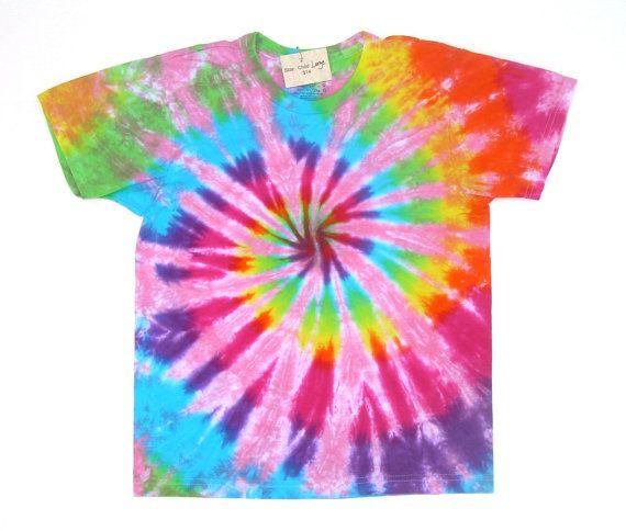 spiral tie dye shirt photo - 1