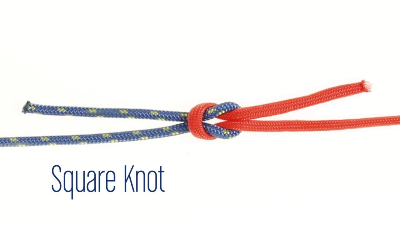 square knot tie photo - 1