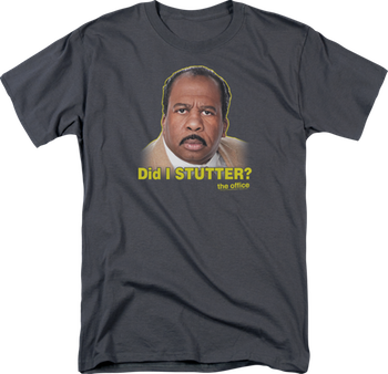stanley did i stutter the office shirt photo - 1