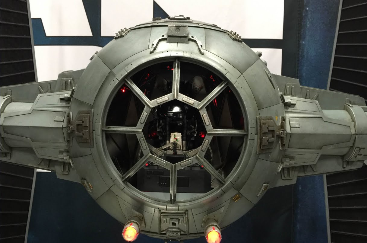 star wars: tie fighter photo - 1