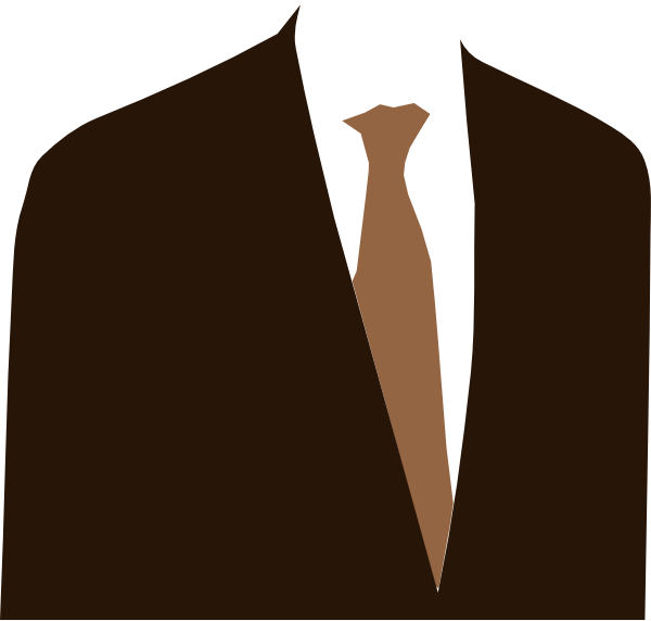 suit and tie clipart photo - 1