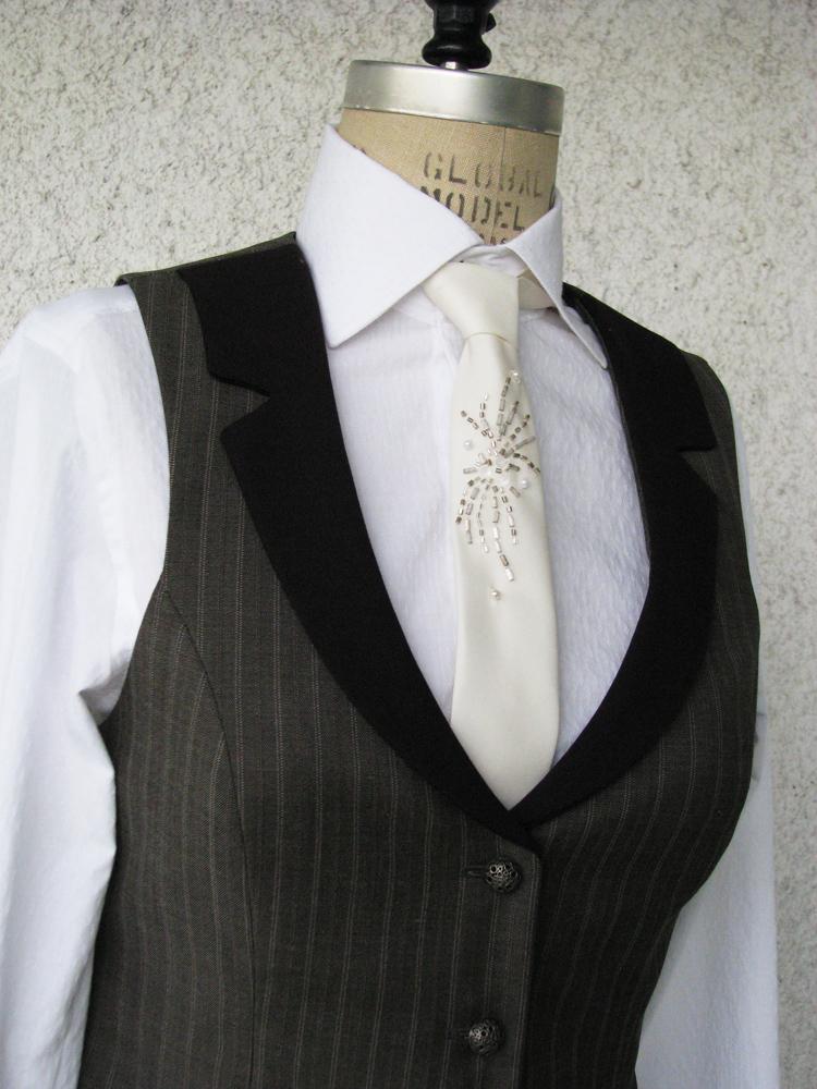 suit vests women photo - 1