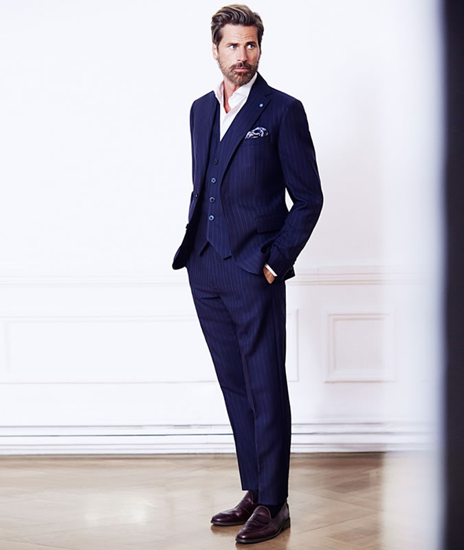 suit without a tie photo - 1