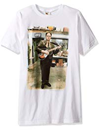 t-line mens the office tv series dwight guitar graphic t-shirt photo - 1