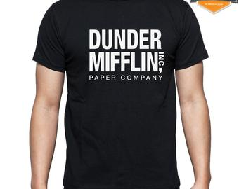 the office dunder mifflin race for the cure shirt photo - 1