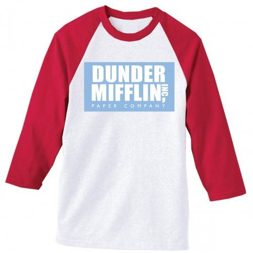 the office dunder mifflin softball shirt photo - 1