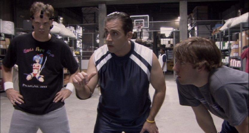 the office dwight basketball shirt photo - 1