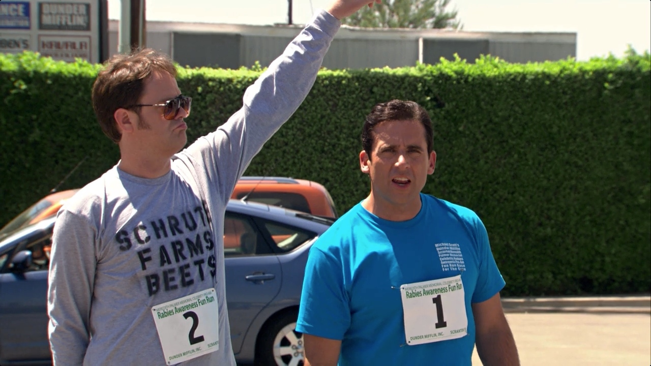 the office marathon shirt photo - 1