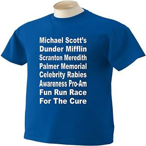 the office rabies race for the cure tee shirt photo - 1