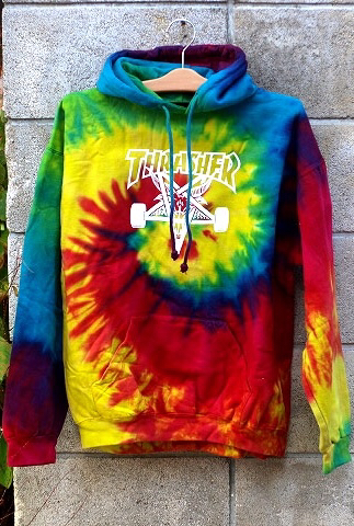 Thrasher tie dye hoodie - woltermanortho.com a0024025a
