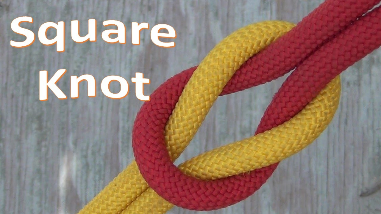 tie a square knot photo - 1