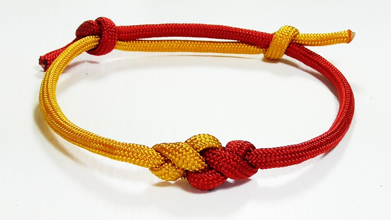 tie bracelet knot photo - 1