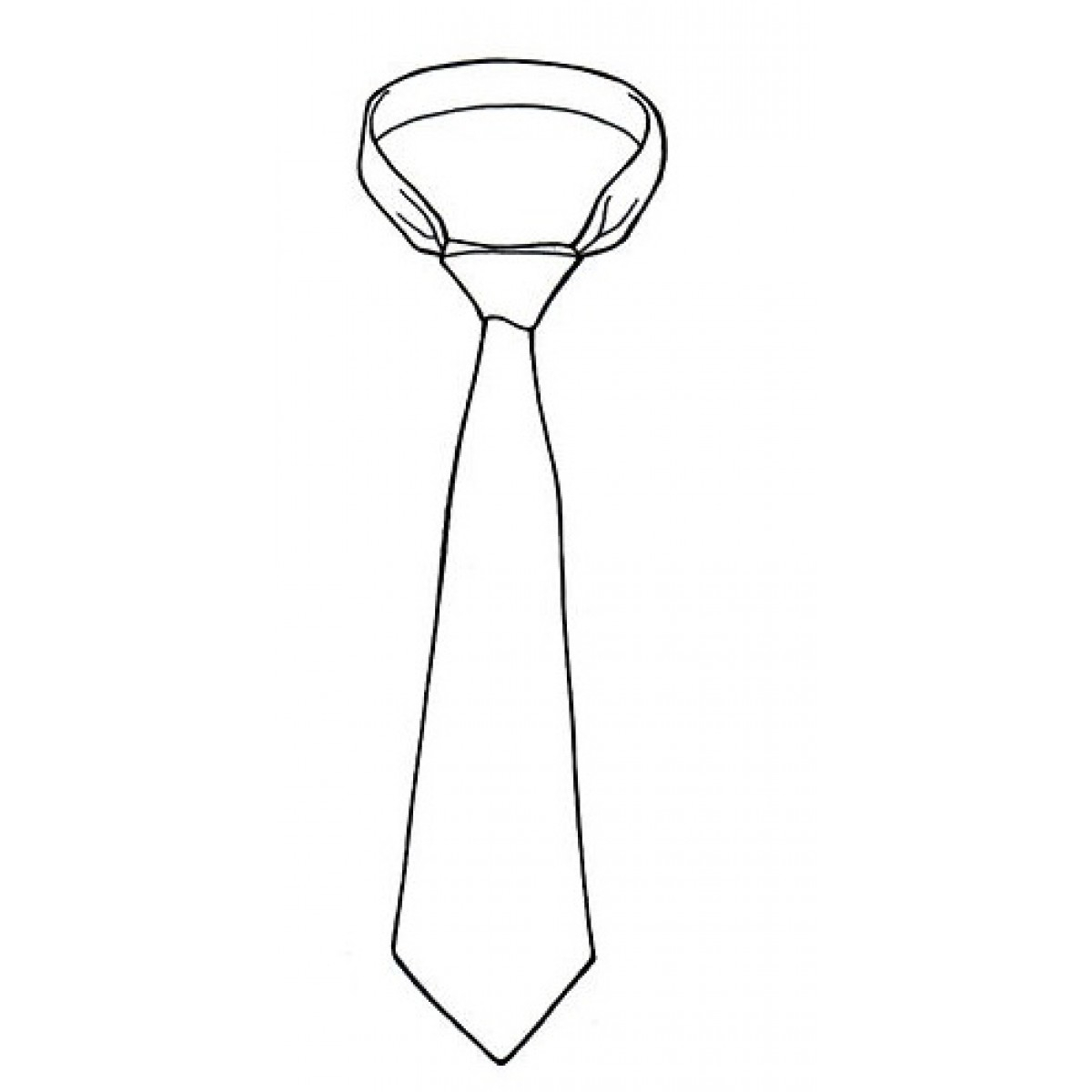 tie drawing photo - 1