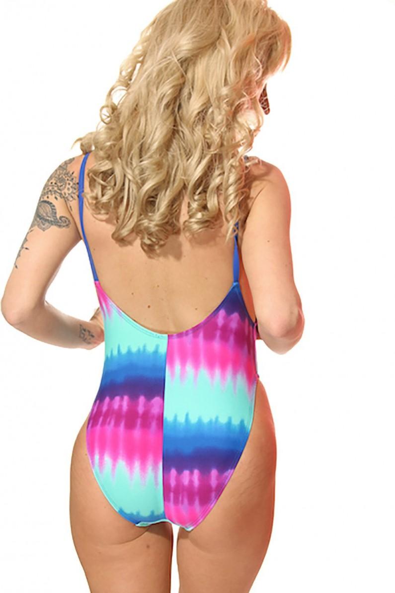 tie dye bathing suit photo - 1