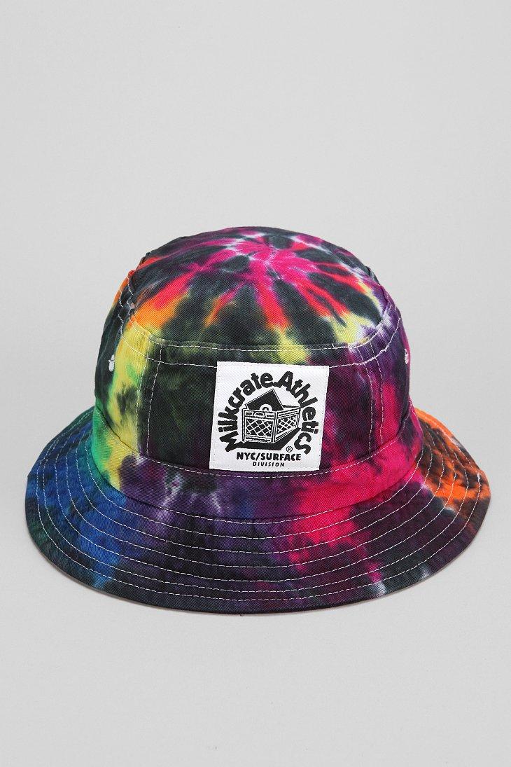 tie dye bucket hat photo - 1