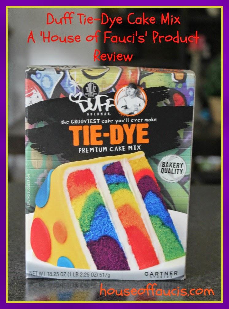 tie dye cake mix photo - 1