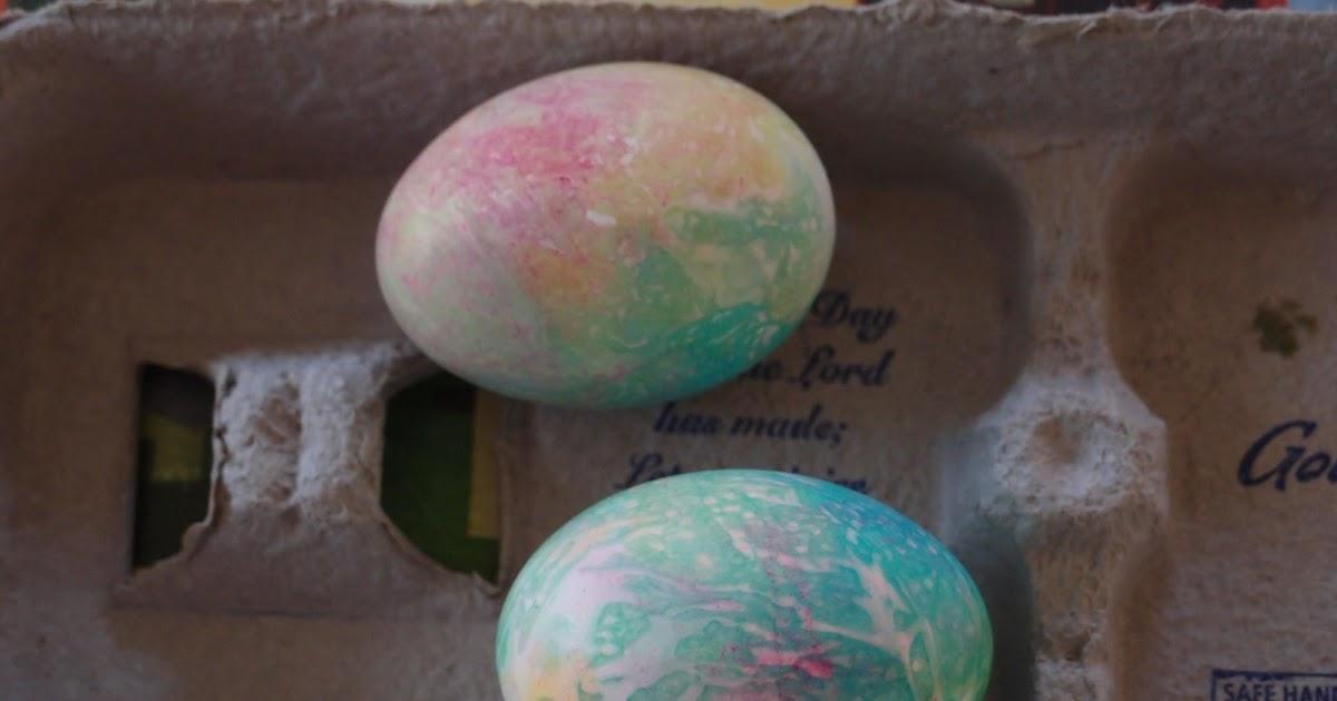 tie dye eggs photo - 1